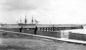 Shotley Pier timeline